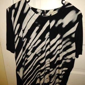 Calvin Klein photo print blouse
